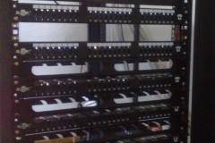 پروژه تلفن سانترال بنیاد مسکن سمنان پچ پنل تلفنی